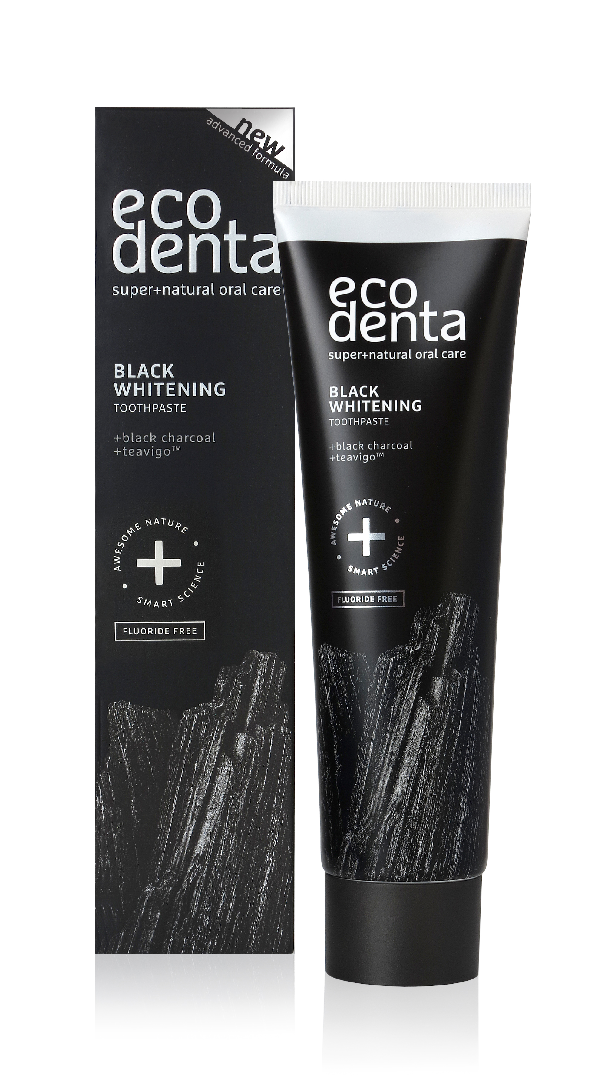 Ecodenta toothpaste-Extra Black whitening