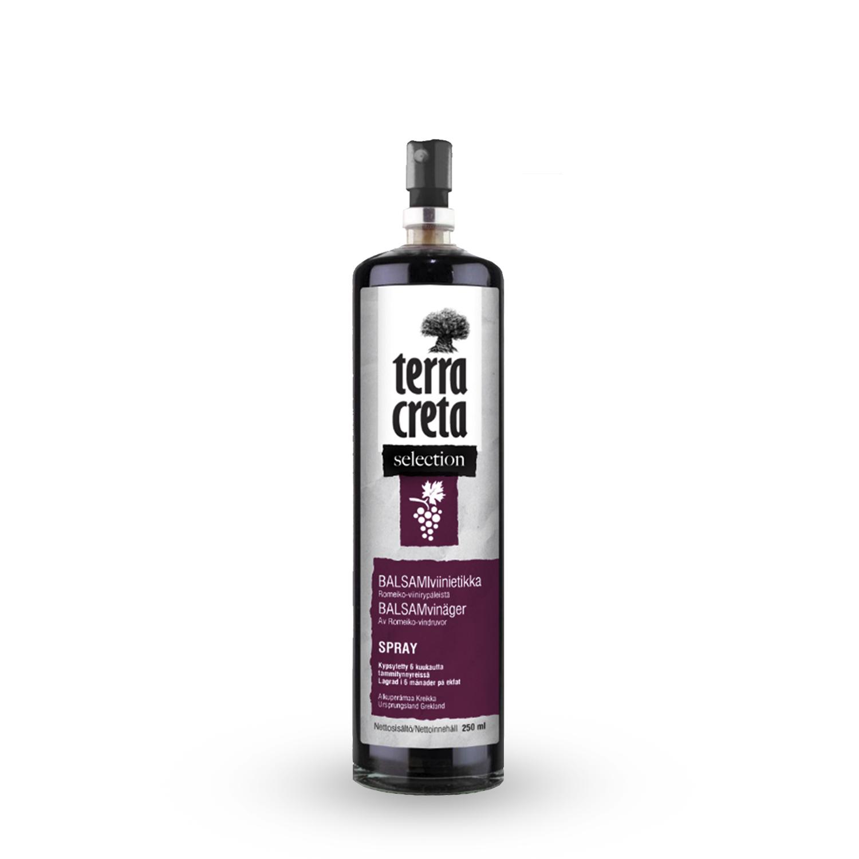 Terra Creta Balsamiviinietikka, 250ml Spray