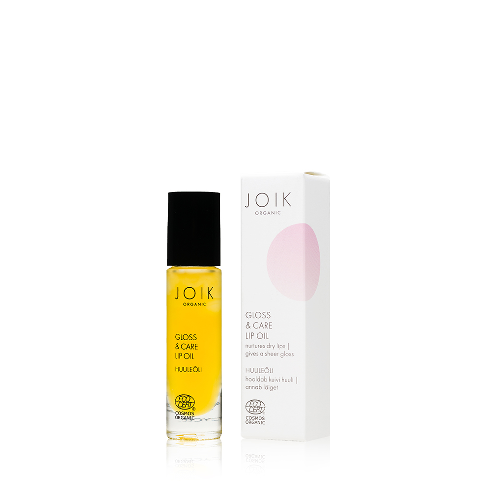 JOIK Organic Gloss & Care Lip Oil Huuliöljy 10 ml