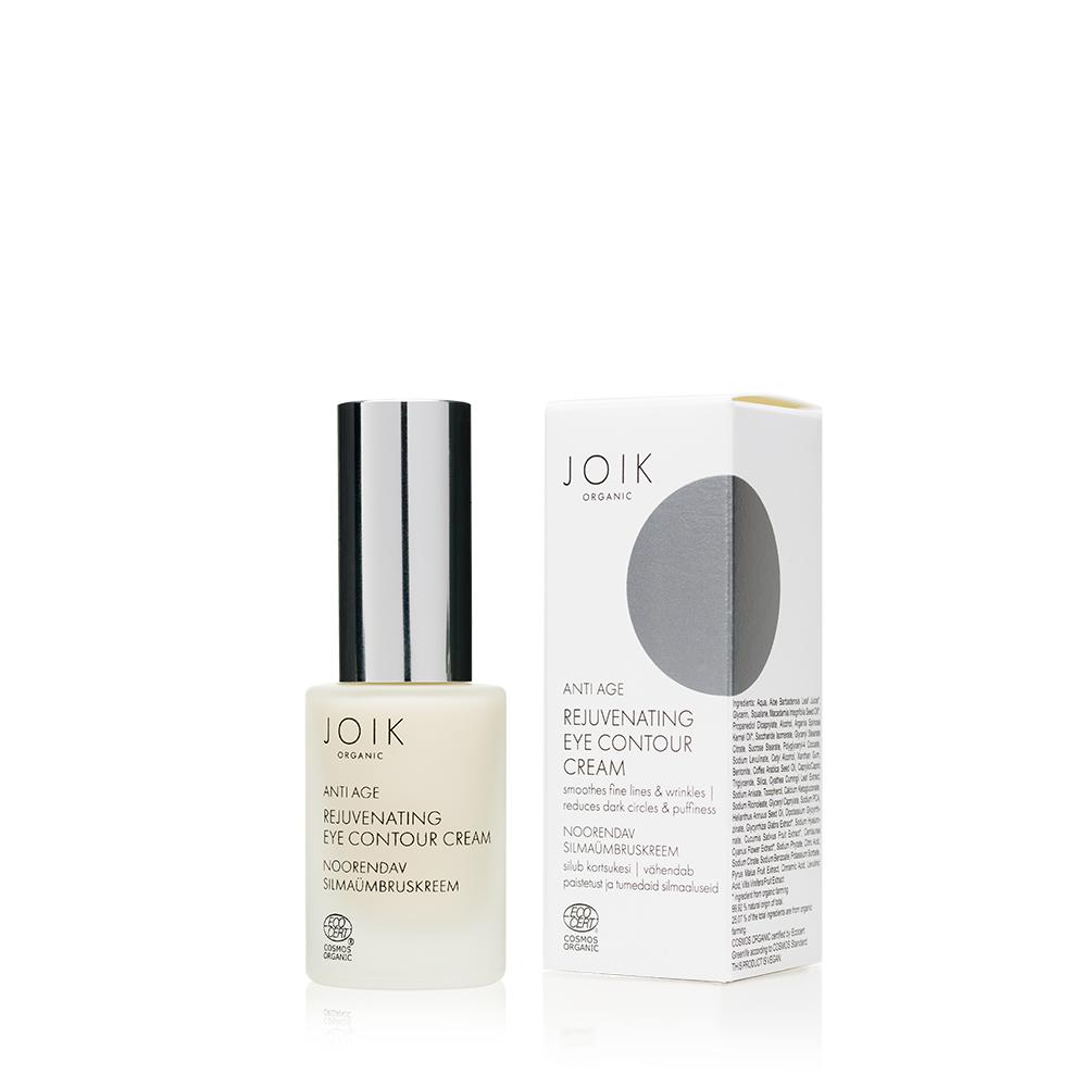 JOIK Organic Rejuvenating Eye Contour Cream Silmänympärysvoide 15 ml