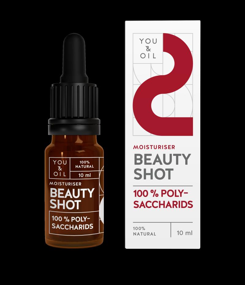 YOU & OIL 100 % Beauty Shot 2 Polysakkaridit Kosteuttava 10 ml