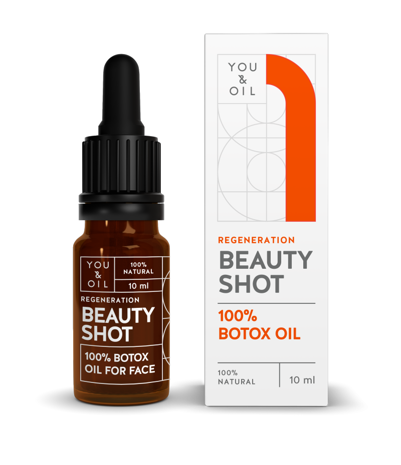 YOU & OIL 100 % Beauty Shot 1 Botoksöljy Uudistava 10 ml