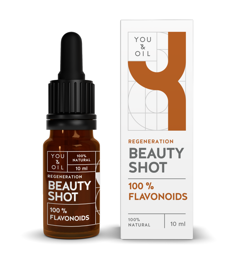YOU & OIL 100 % Beauty Shot 4 Flavonoidit Uudistava 10 ml