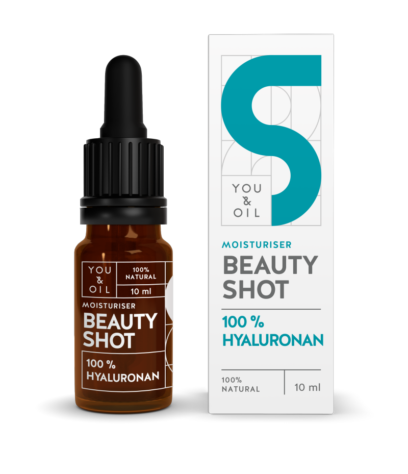 YOU & OIL 100 % Beauty Shot 5 Hyaluronihappo Kosteuttava 10 ml