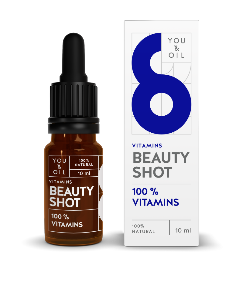 YOU & OIL 100 % Beauty Shot 6 Vitamiinit 10 ml