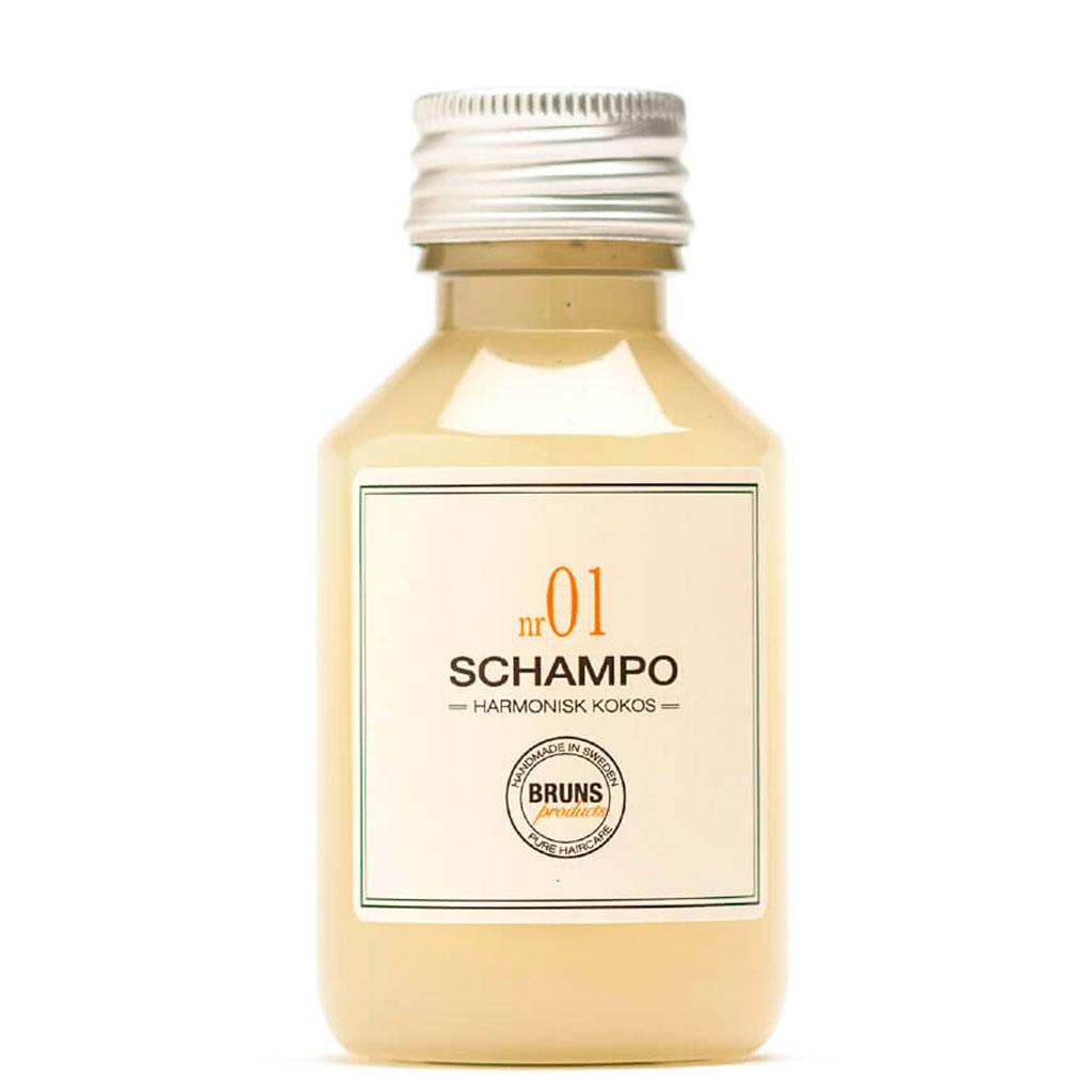 BRUNS Products Nr01 Harmonius Coconut Shampoo Kookos Shampoo 100 ml