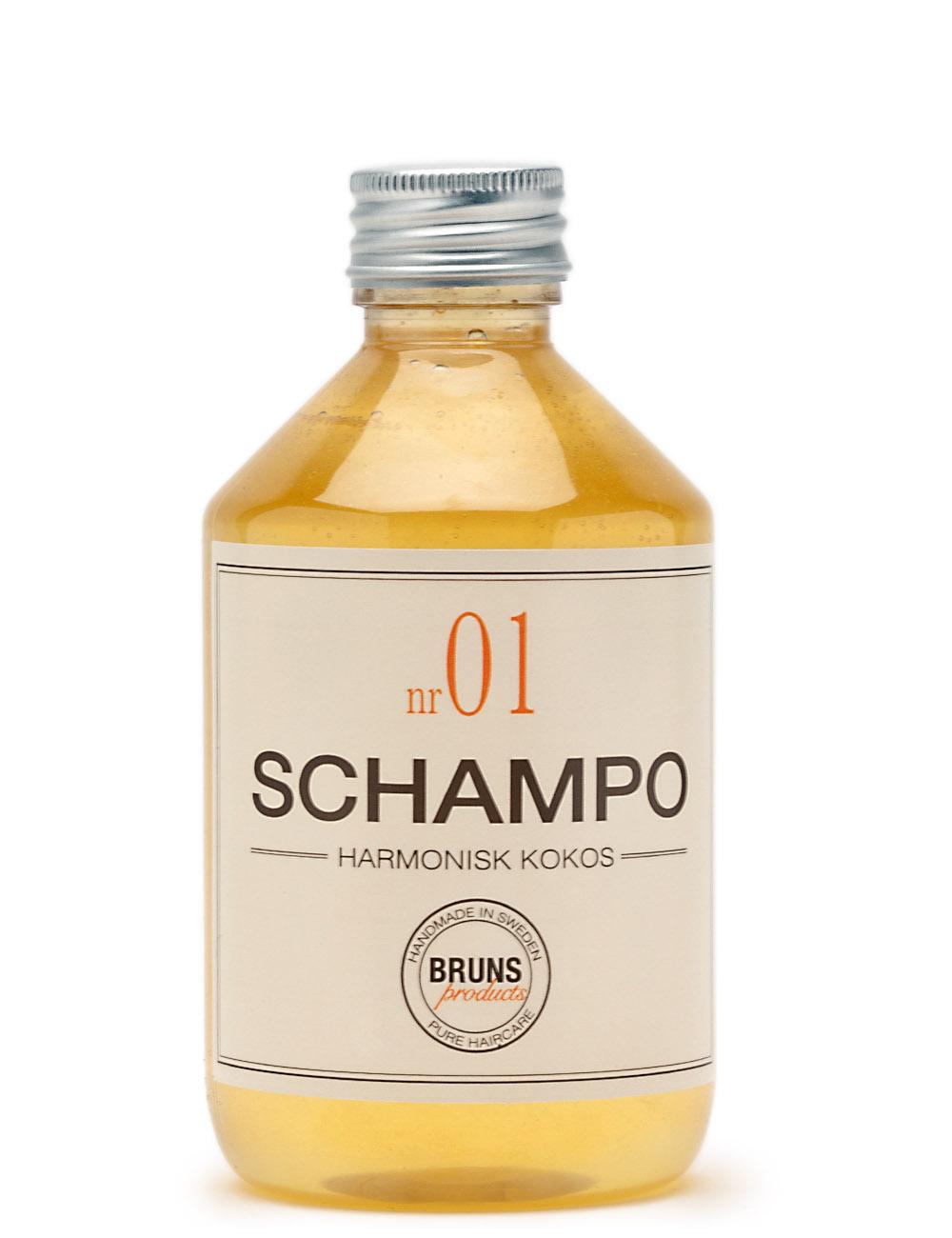 BRUNS Products Nr01 Harmonius Coconut Shampoo Kookos Shampoo 1000 ml