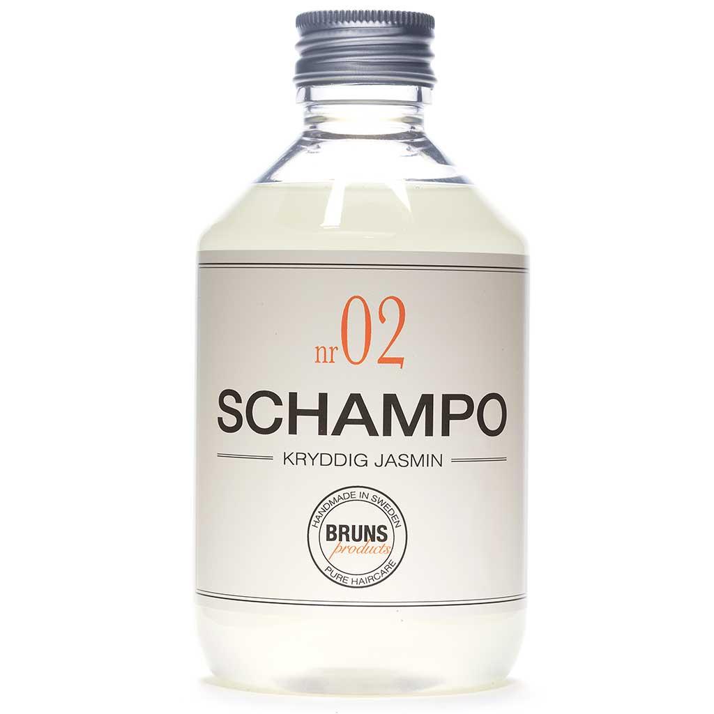 BRUNS Products Nr02 Spicy Jasmine Shampoo Jasmiini Shampoo 330 ml
