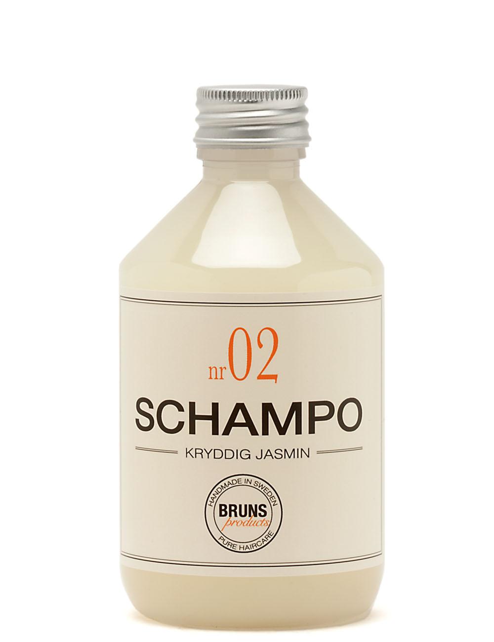 BRUNS Products Nr02 Spicy Jasmine Shampoo Jasmiini Shampoo 1000 ml