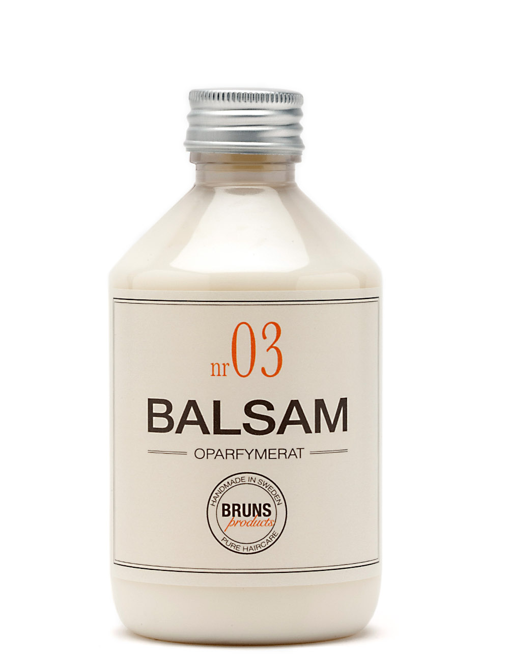 BRUNS Products Nr03 Unscented Balsam Hajusteeton Hoitoaine 1000 ml