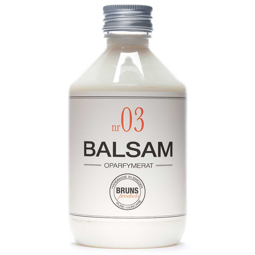 BRUNS Products Nr03 Unscented Balsam Hajusteeton Hoitoaine 1000 ml