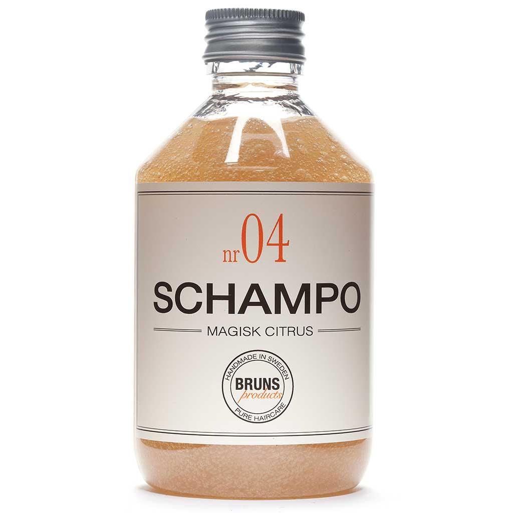 BRUNS Products Nr04 Magic Citrus Shampoo Sitruuna Shampoo 330 ml
