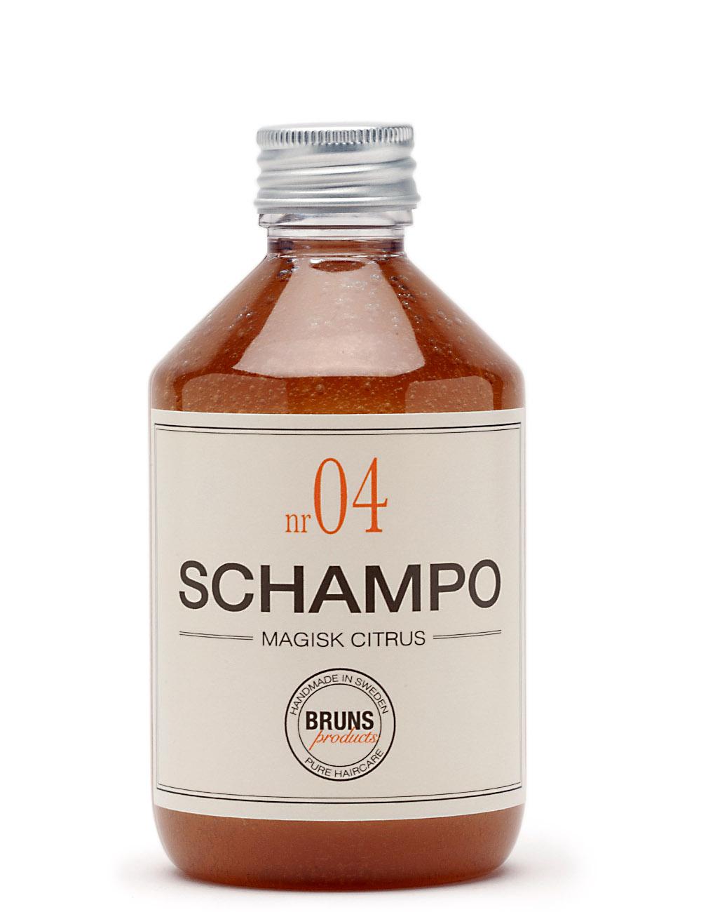 BRUNS Products Nr04 Magic Citrus Shampoo Sitruuna Shampoo 1000 ml