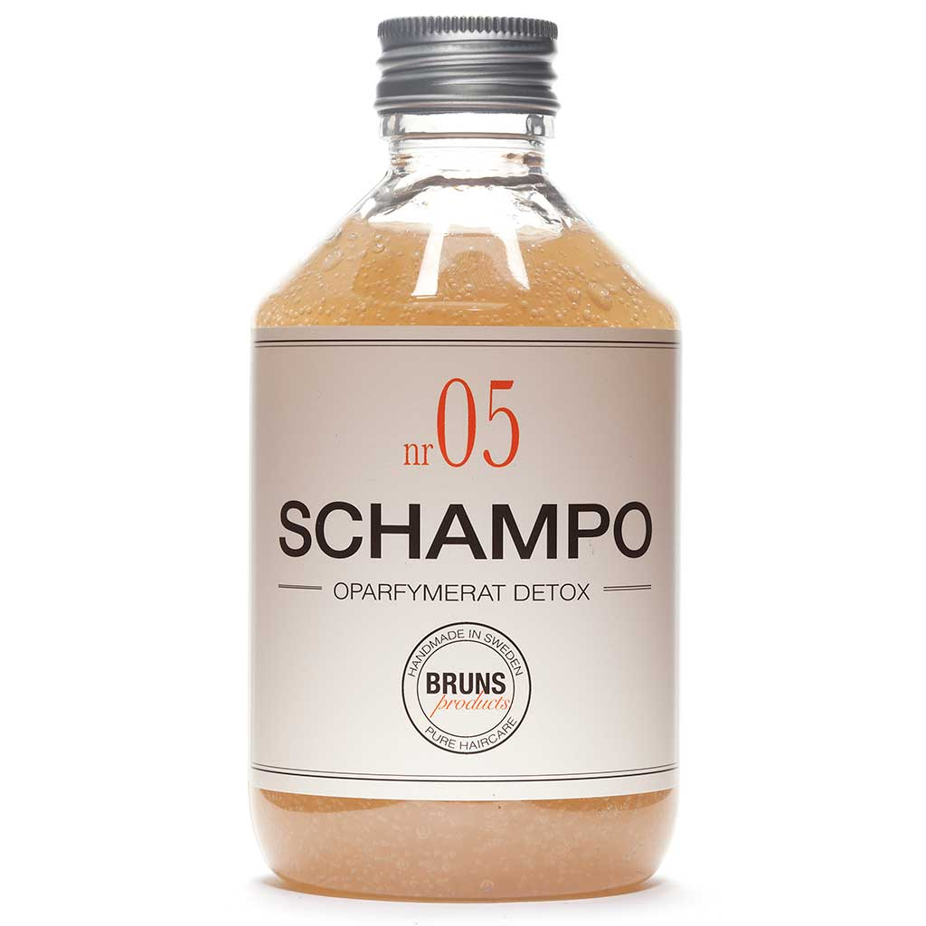 BRUNS Products Nr05 Unscented Detox Shampoo Hajusteeton Detox Shampoo 330 ml