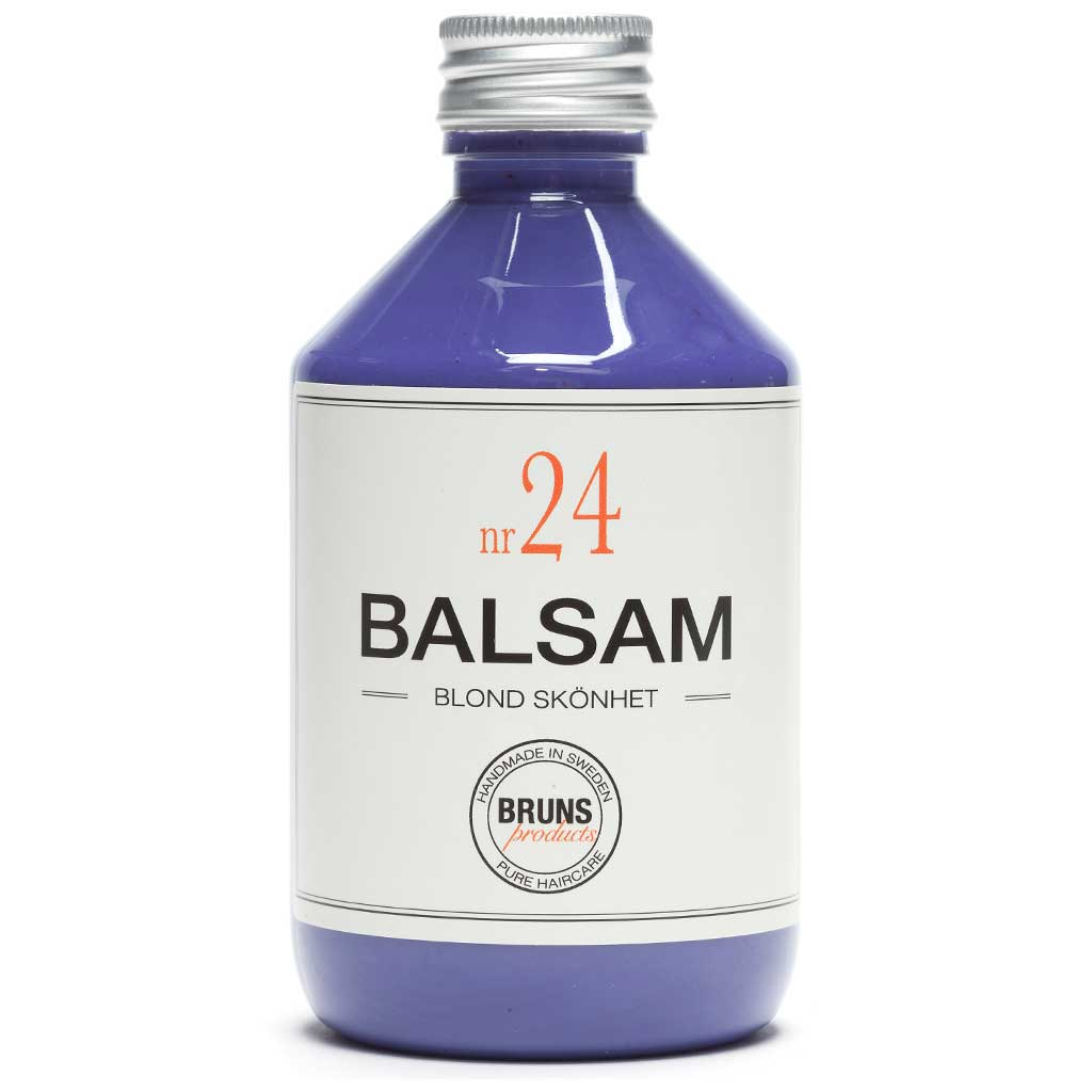 BRUNS Products Nr24 Blonde Beauty Balsam Hopeahoitoaine 330 ml