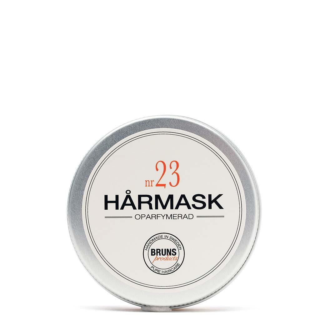 BRUNS Products Nr23 Unscented Hårmask Hajusteeton Hiusnaamio 50 ml