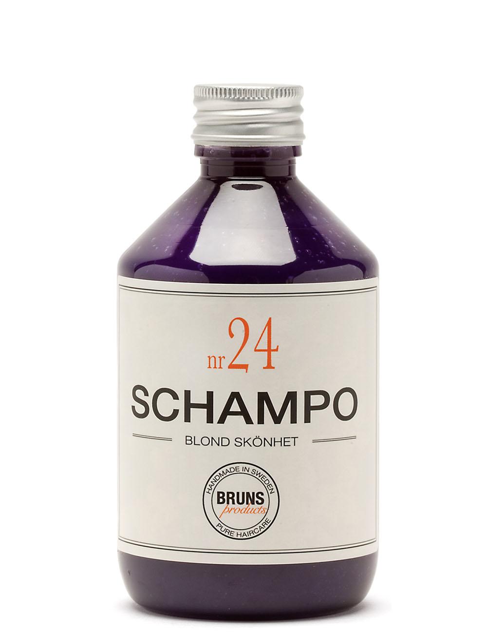 BRUNS Products Nr24 Blonde Beauty Shampoo Hopeashampoo 1000 ml
