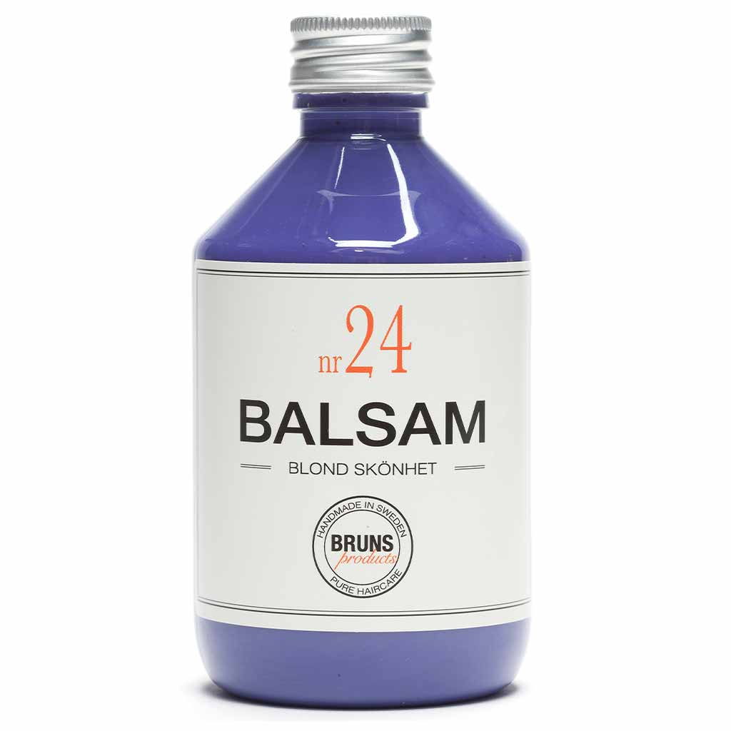 BRUNS Products Nr24 Blonde Beauty Balsam Hopeahoitoaine 1000 ml