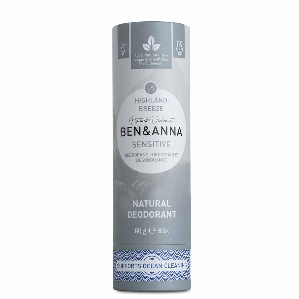 Ben & Anna Deodorantti Sensitive Highland Breeze 60 g