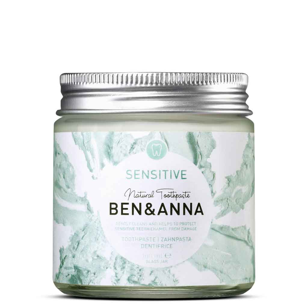 Ben & Anna Toothpaste Sensitive Hammastahna herkille hampaille 100 ml