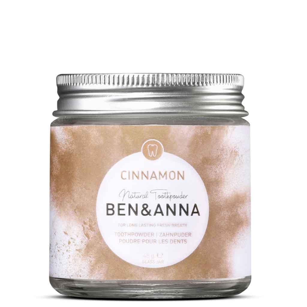 Ben & Anna Cinnamon Toothpowder Hampaiden pesujauhe 45 g