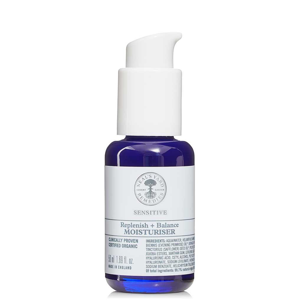 Neal's Yard Remedies Replenish + Balance Moisturiser Kasvovoide 50 ml