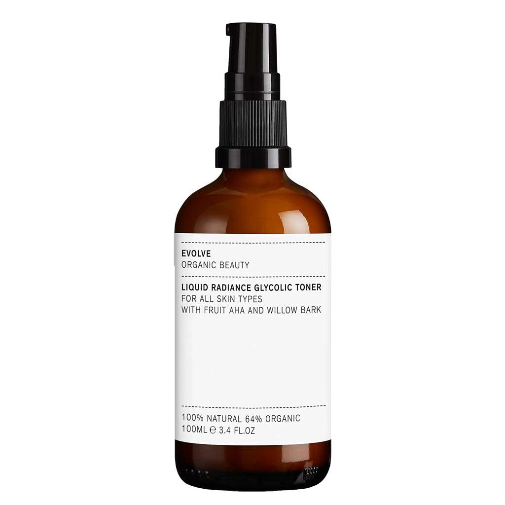 Evolve Organic Beauty Liquid Radiance Glycolic Toner Kasvovesi 100 ml