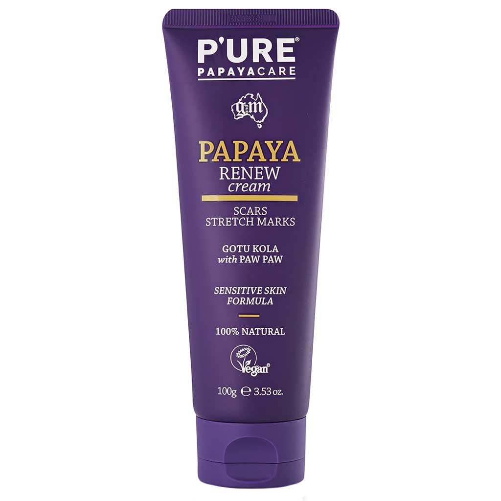 P'URE Papayacare Papaya Renew Cream 100 ml