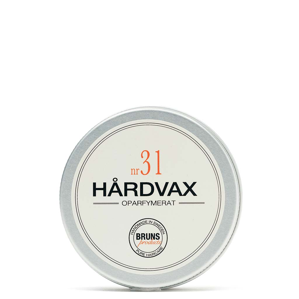 BRUNS Products Nr31 Unscented Hairwax Hajusteeton Hiusvaha 50 ml