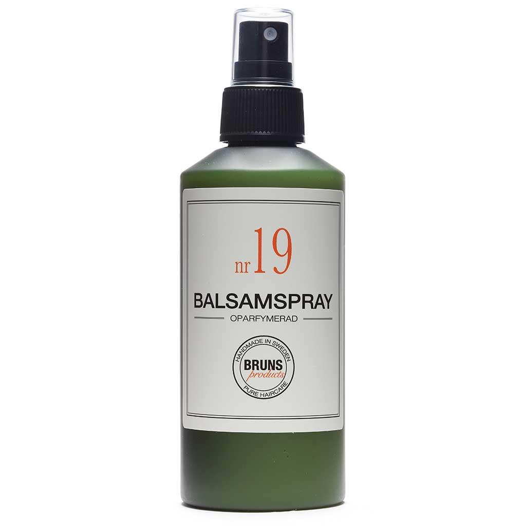 BRUNS Products Nr19 Unscented Balsamspray Hajusteeton Hoitoainespray 200 ml