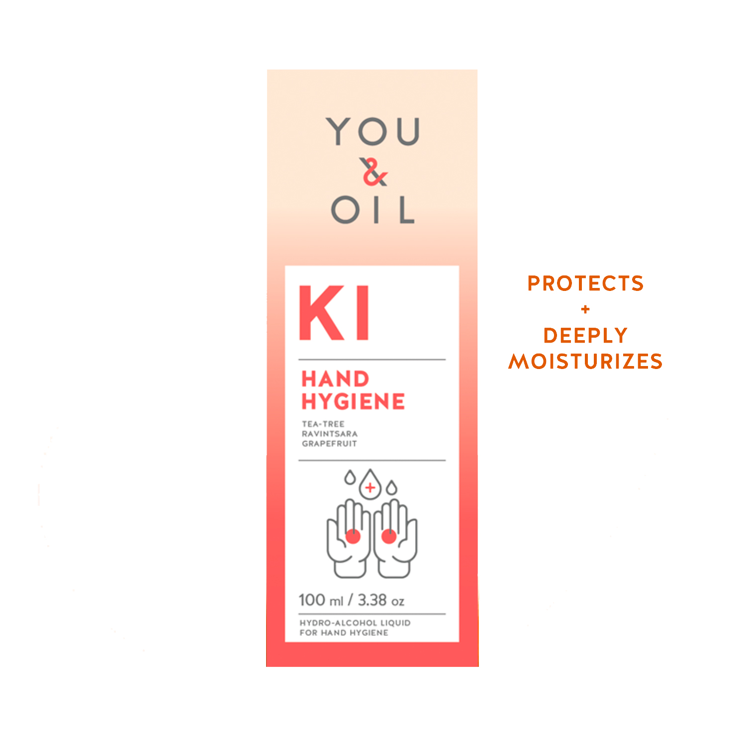 You & Oil Ki Hand Sanitizer käsidesi 100 ml