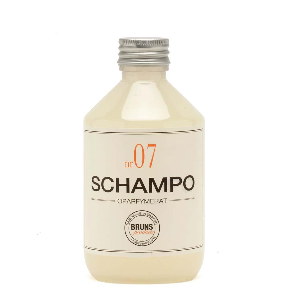 BRUNS Products Nr07 Unscented Hajusteeton Shampoo 1000 ml