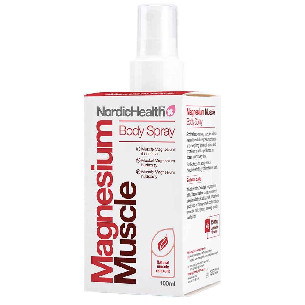 Nordic Health Magnesium ihosuihke Muscle