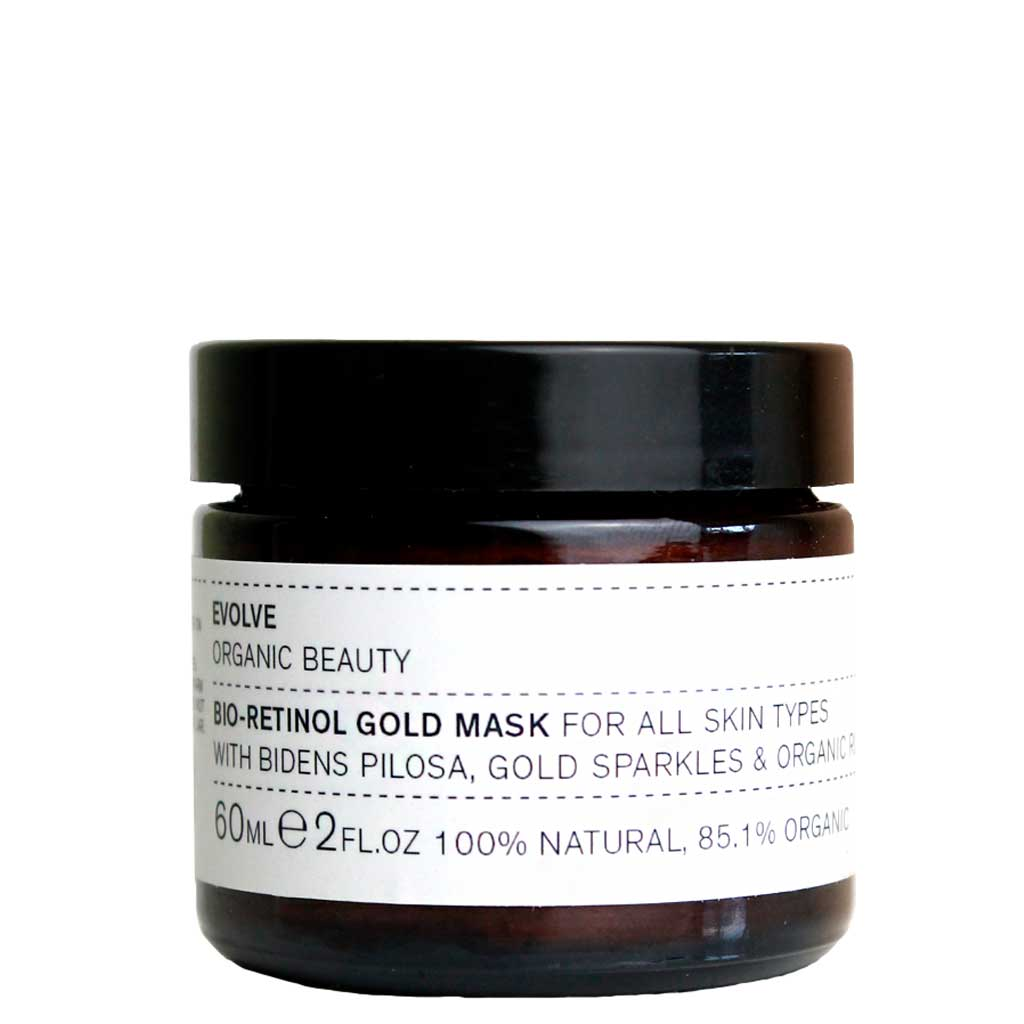 Evolve Organic Beauty Bio-Retinol Gold Mask Kasvonaamio