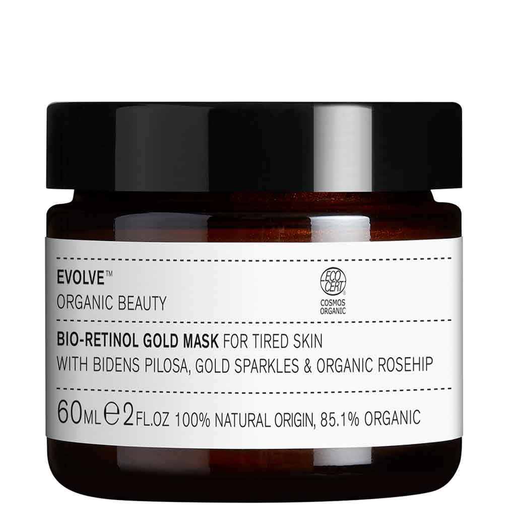 Evolve Organic Beauty Bio-Retinol Gold Mask Kasvonaamio 60ml