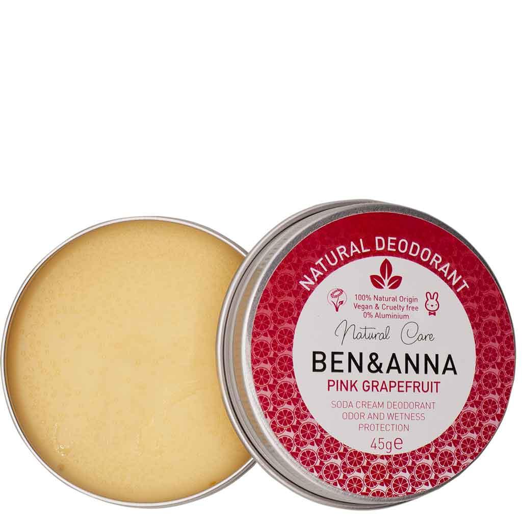Ben & Anna Pink Grapefruit Voidedeodorantti 45 g