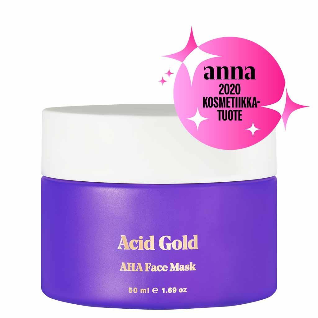 BYBI Beauty Acid Gold AHA Face Mask Kasvonaamio 50 ml
