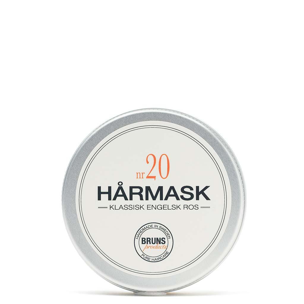 BRUNS Products Nr20 English Rose Hårmask Ruusu Hiusnaamio 50 ml