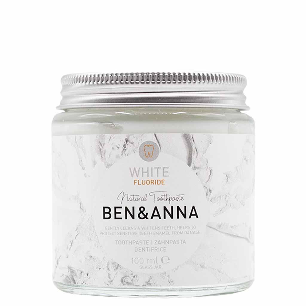 Ben & Anna Toothpaste White Fluorihammastahna 100 ml