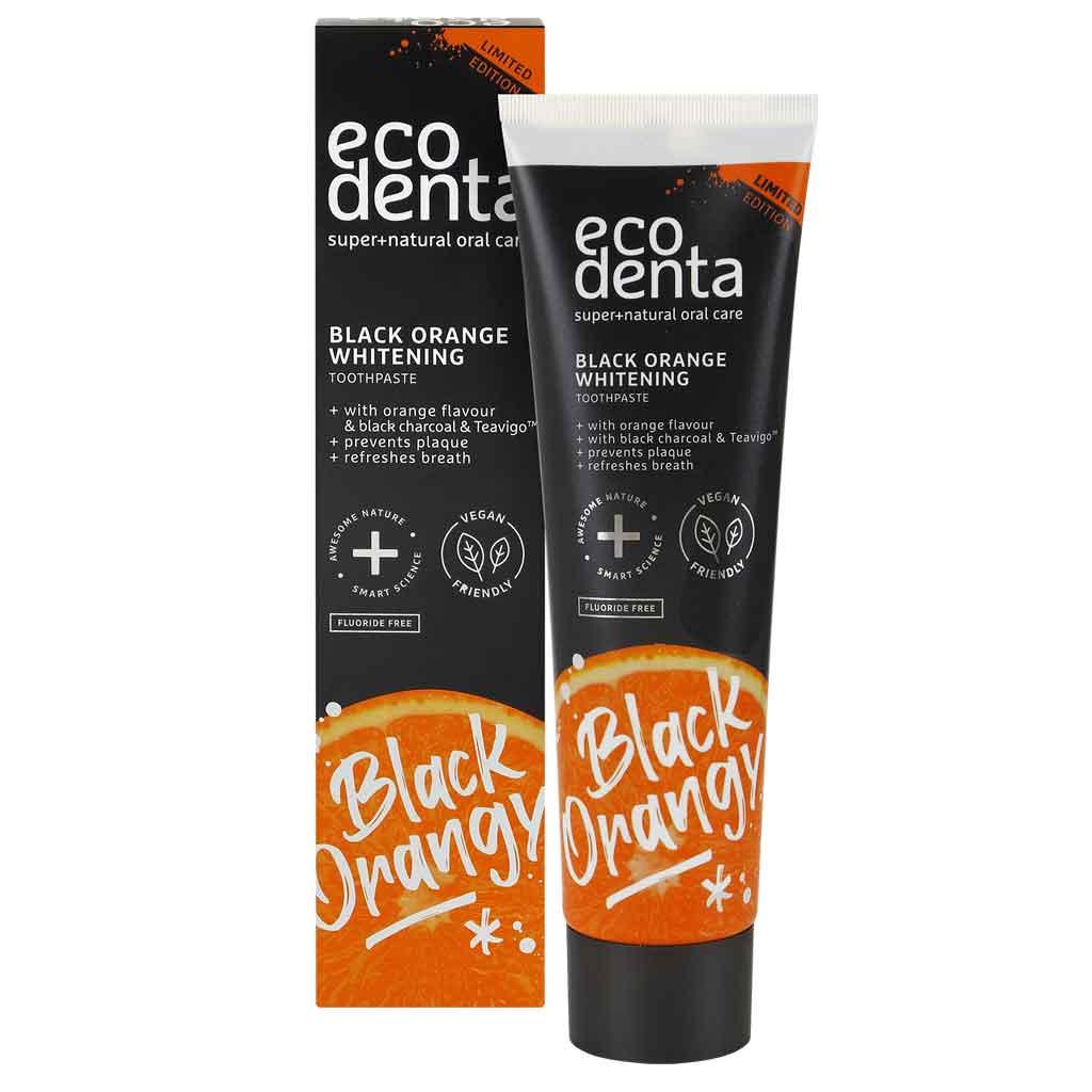Ecodenta Black Orange Whitening toothpaste
