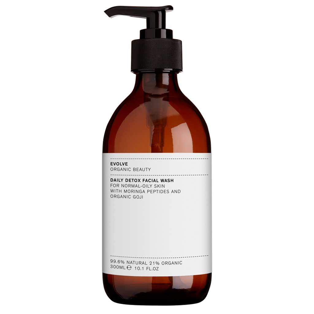 Evolve Organic Beauty Daily Detox Facial Wash Puhdistusgeeli 300ml Ammattikoko