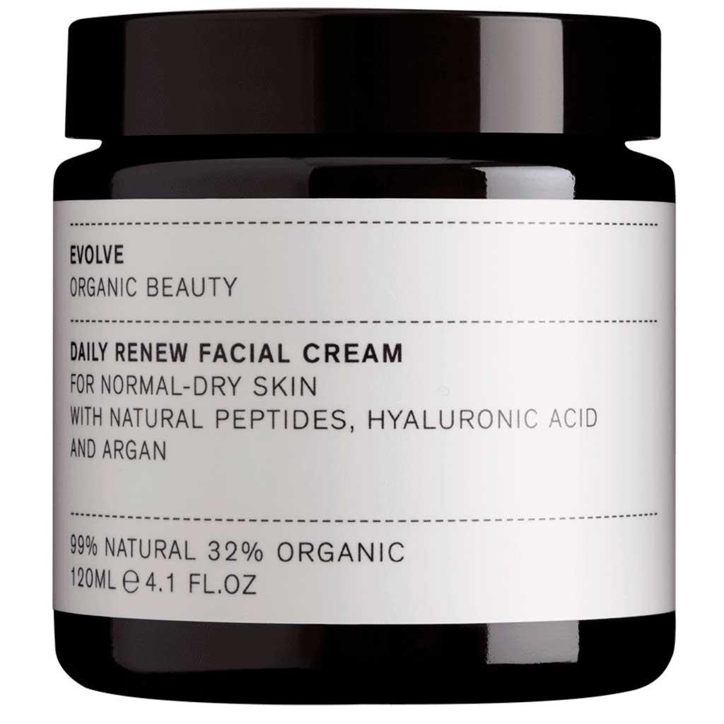 Evolve Organic Beauty Daily Renew Facial Cream Uudistava kasvovoide 120ml Ammattikoko