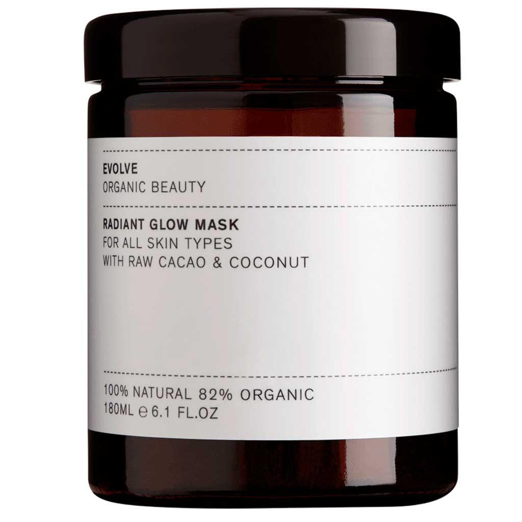 Evolve Organic Beauty Radiant Glow Mask Kasvonaamio 180ml Ammattikoko