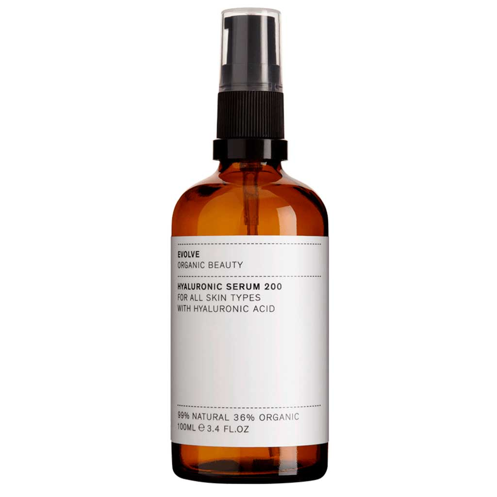Evolve Organic Beauty Hyaluronic Serum 200 Hyaluronihapposeerumi 100ml Ammattikoko