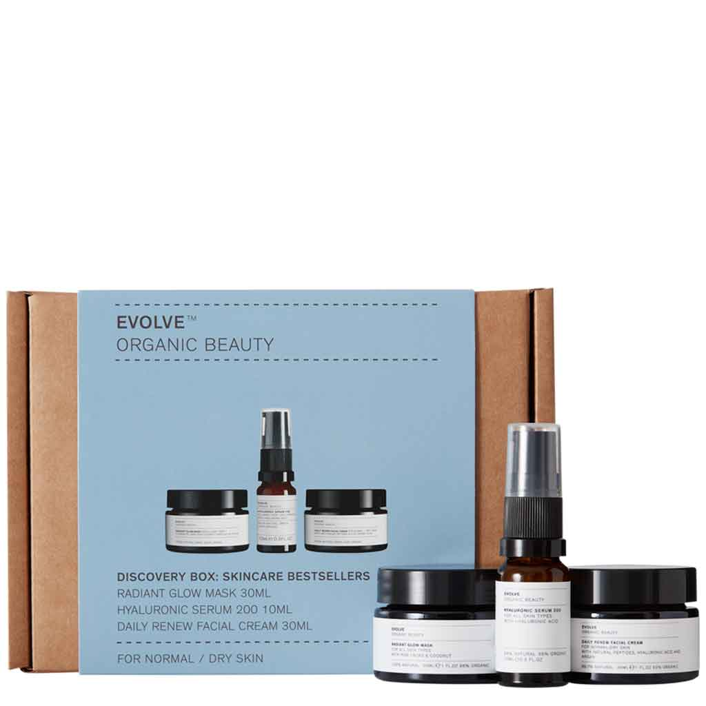 Evolve Organic Beauty Discovery Skincare Bestsellers