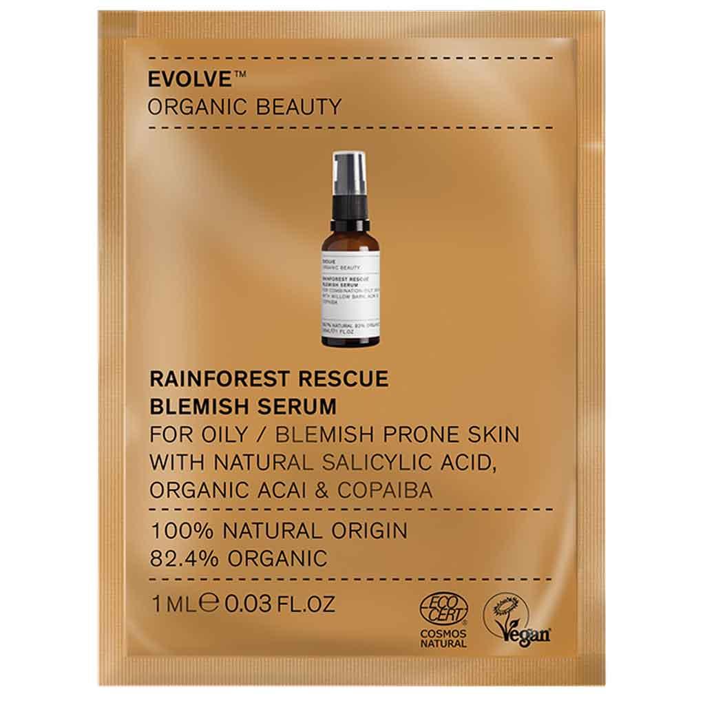 Evolve Organic Beauty Rainforest Rescue Serum Seerumi 1 ml Näyte