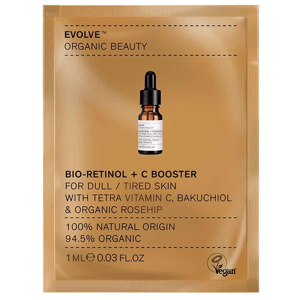 Evolve Organic Beauty Bio-Retinol + C Booster 1 ml Näyte