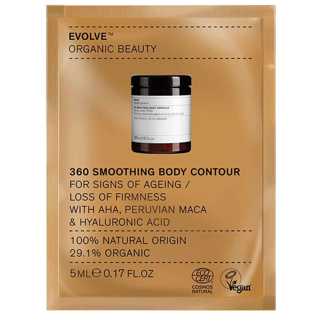 Evolve Organic Beauty 360 Smoothing Body Contour Cream 5 ml Näyte