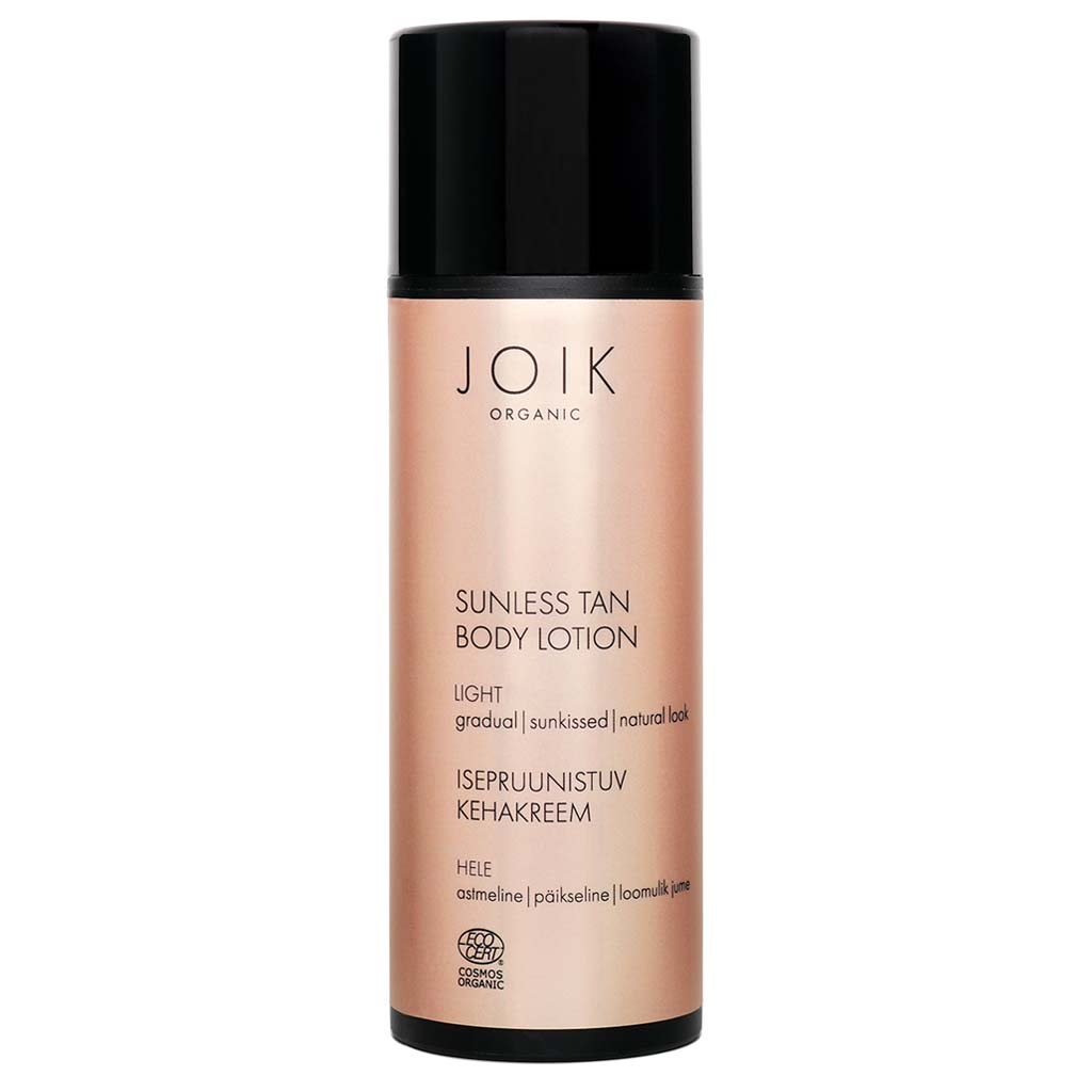 JOIK Organic Sunless Tan Body Lotion Light