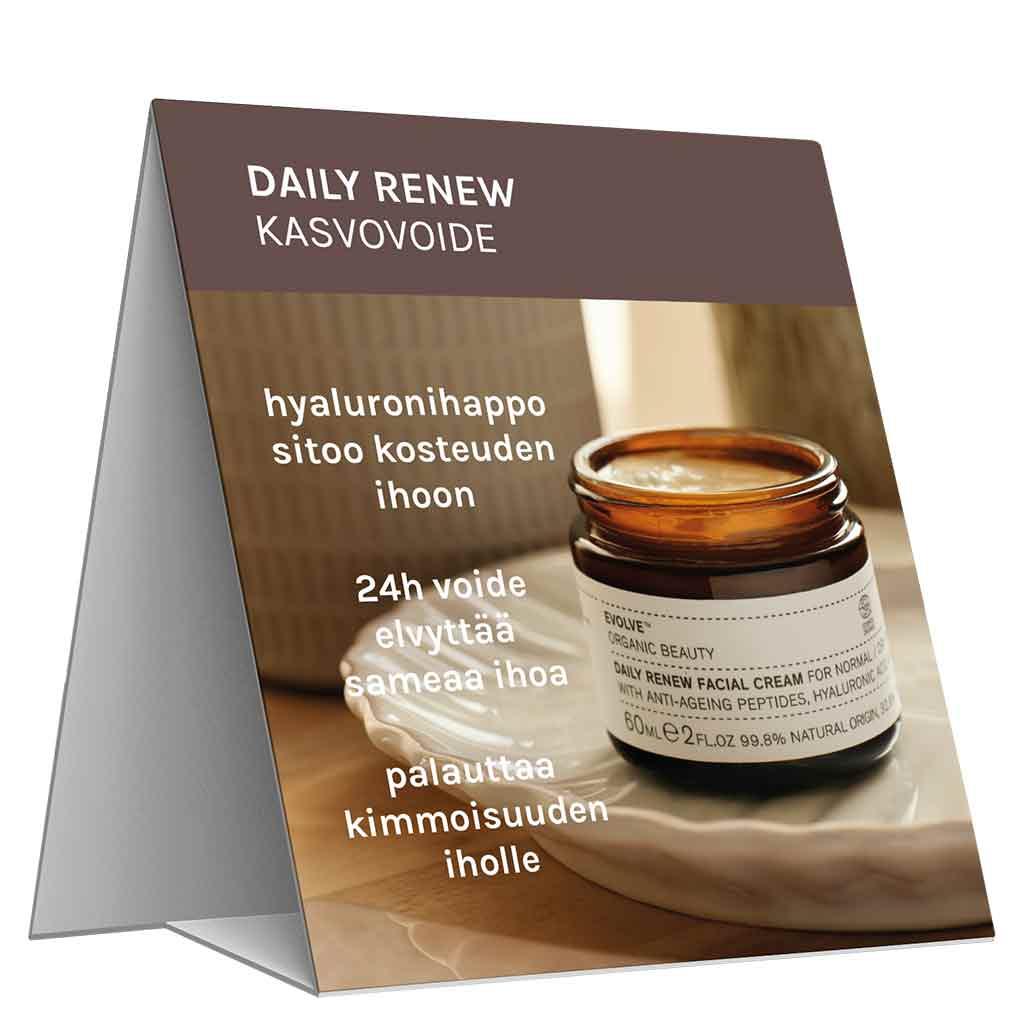 Evolve Organic Beauty Hyllypuhuja Daily Renew Cream